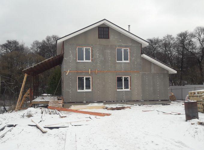 Готовый дом с сауной